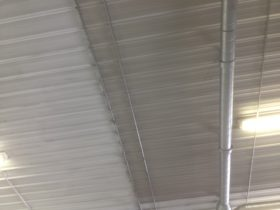 Industrial Cleaning Of Ceiling