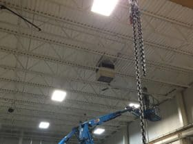 Warehouse Dust Collection