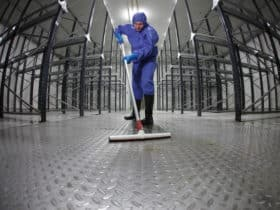 Highly Sensitive floor care in clean room