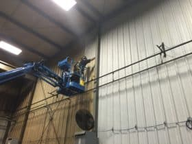 Industrial Cleaning Service of walls