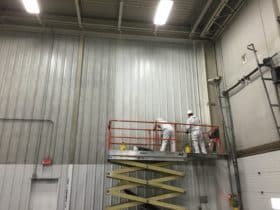 Industrial Cleaning Service wall cleaning