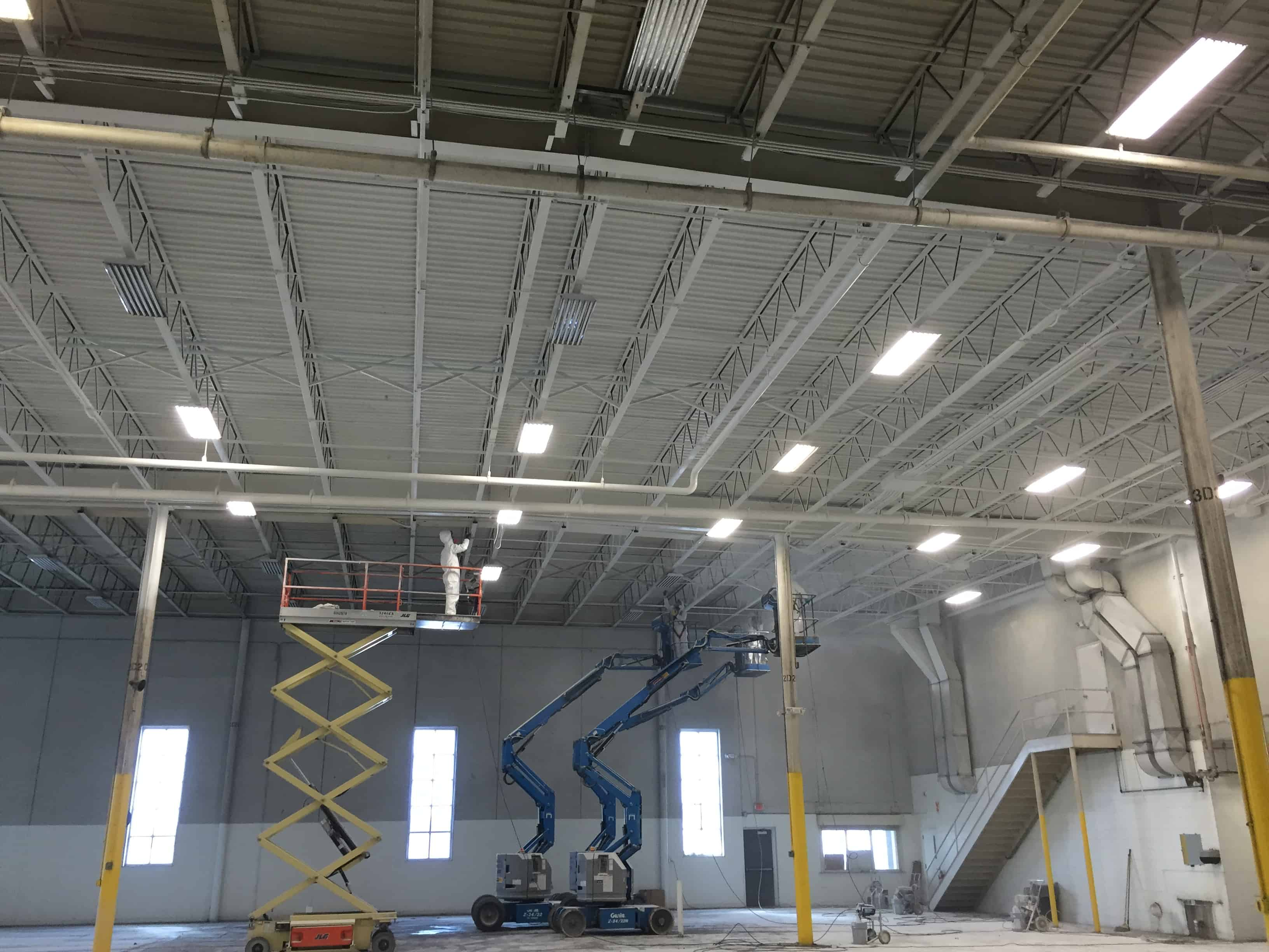 Industrial paint job recoveron services for Industrial painting service